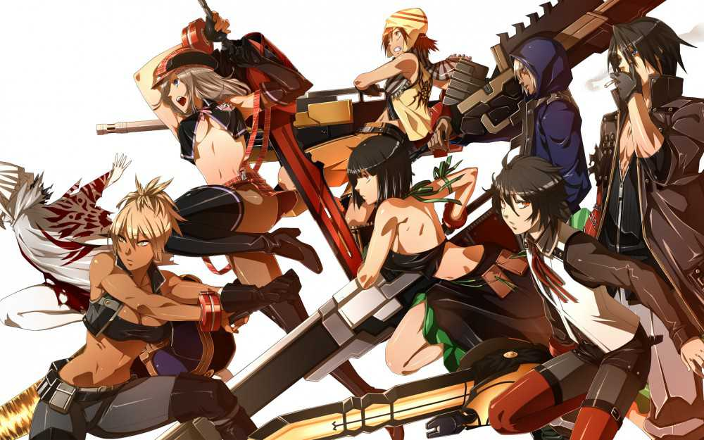 God Eater Resurrection новое промо видео к игре