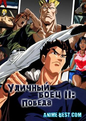 Уличный боец II: Победа (1 сезон) / Street Fighter II: The Animated Series